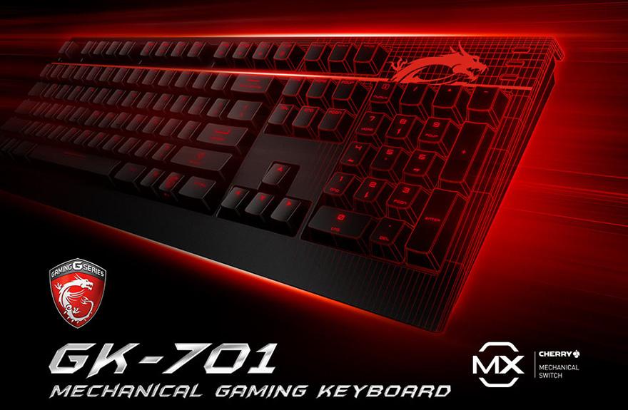 Gamingowa klawiatura MSI GK-701